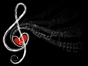 soundless sound music in heart